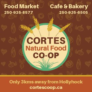 Cortes Island Natural Food Co-Op ad