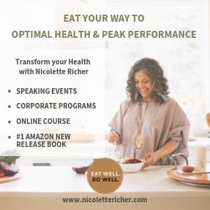 Nicolette Richer holistic health ad